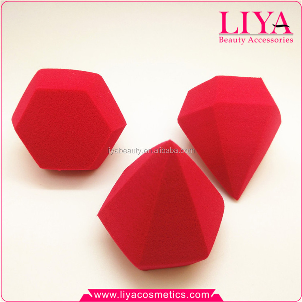 Hot sale Diamond Shape Latex Free Makeup Blender Sponge