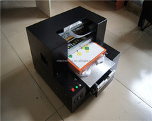 MAX-printer a3 digital flatbed printer / all in one desktop t shirt printer / flatbed uv printer a3