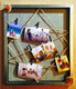 2017 New Design Retro Antique Finishing Wooden Plastics PS Collage Photo Frame With Hemp Rope Vintage Clip Picture Photo Frame