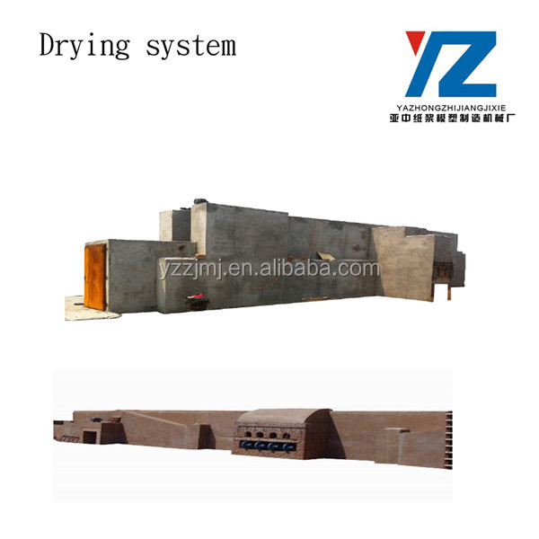 fruit tray pulp molding machine