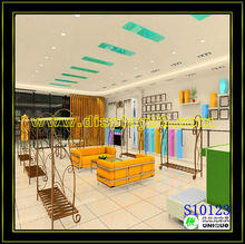 Beautiful Spring Clothes Shop Design With Custom Design