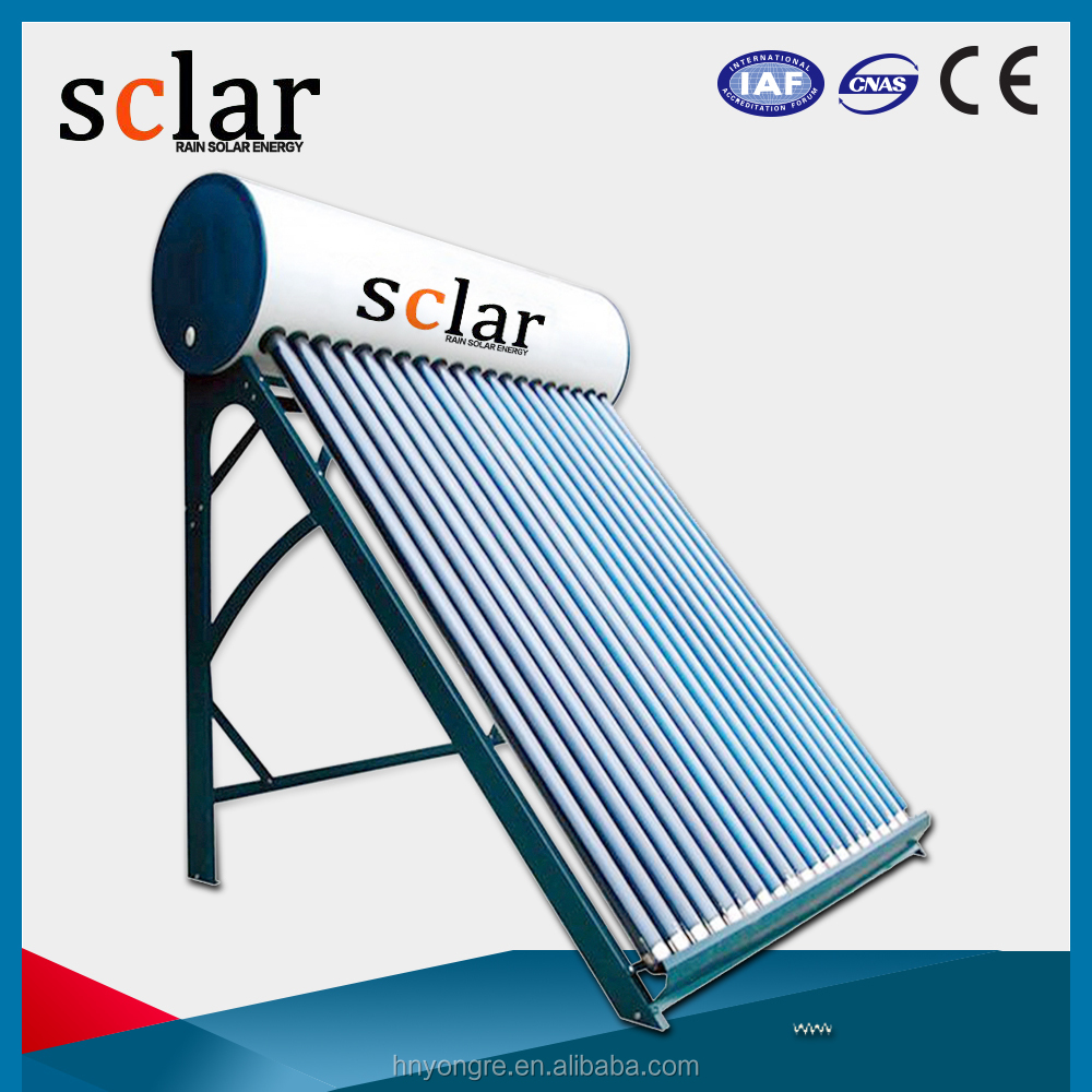 Solar Water Heater/Vacuum tube/Color steel/150Liters for 3 people use