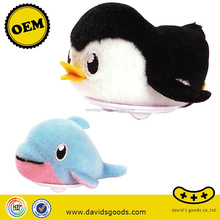 animal fish plush doll push back toy for kids