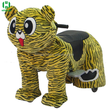 HI plush animal electric scooter coin operated electric ride on animals