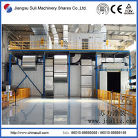 automobile spraying paintings industrial coating drying room with ISO CE approved