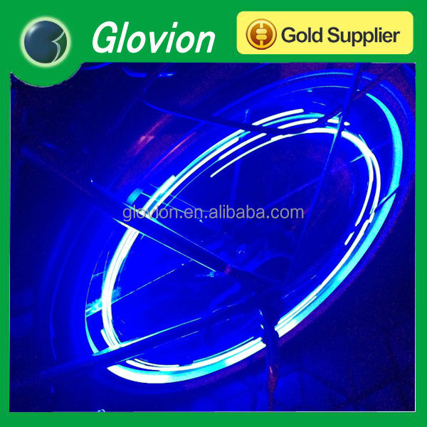 Hot selling Wheel light Glovion flashing spinning light led spoke light