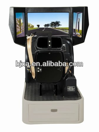 Driving Simulator gear in the right
