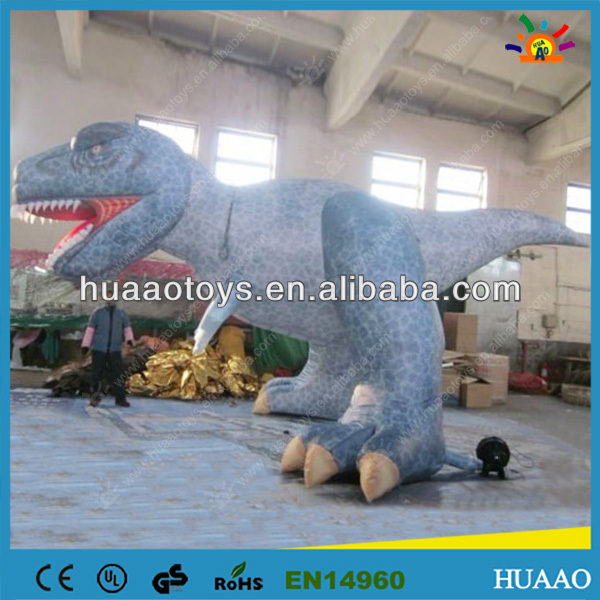 final clear out inflatable dinosaur cartoon for kids