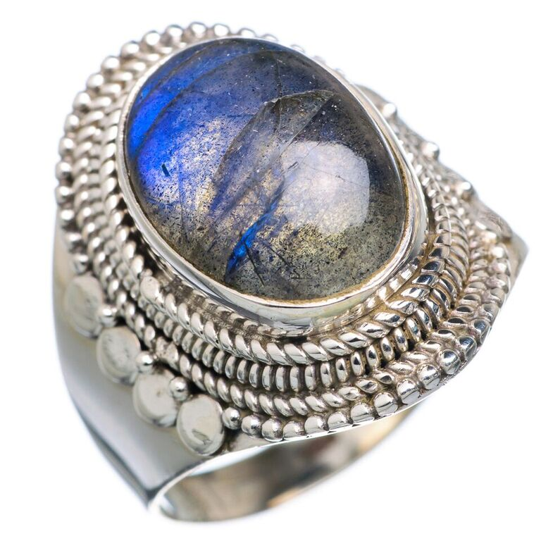 EXOTIC!! 925 SOLID STERLING SILVER JEWELRY LABRADORITE RING,SILVER EXPORTER,WHOLESALE SILVER JEWELRY