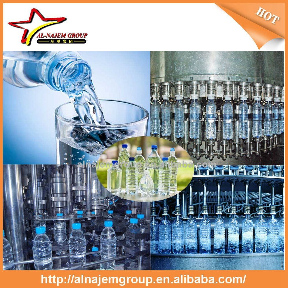 Mineral Water Filling Plant / Pure Water Production Line/small bottle water filling machine