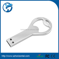 hot new products bottle usb for 2014 metal usb christmas gift bottle opener usb