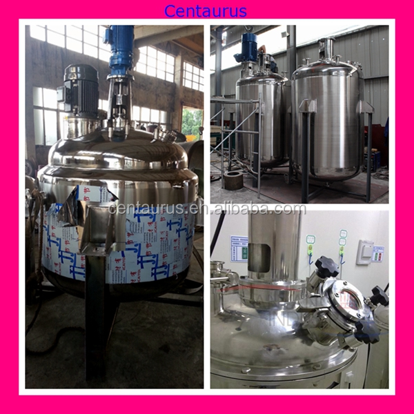 2015 best quality carbon steel reaction still/kettle price with lowest price
