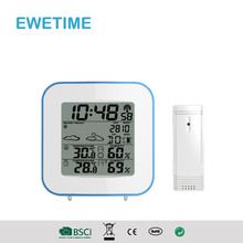 YD8236B CE/RoHs Multifunctional Digital LCD Display Alarm Clock with Weather Station / Temperature / Humidi