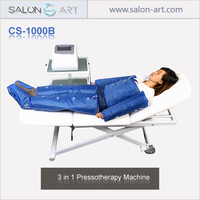 3 in 1 pressoterapia massage far infrared body slimming suit pressotherapy fat reducing machine