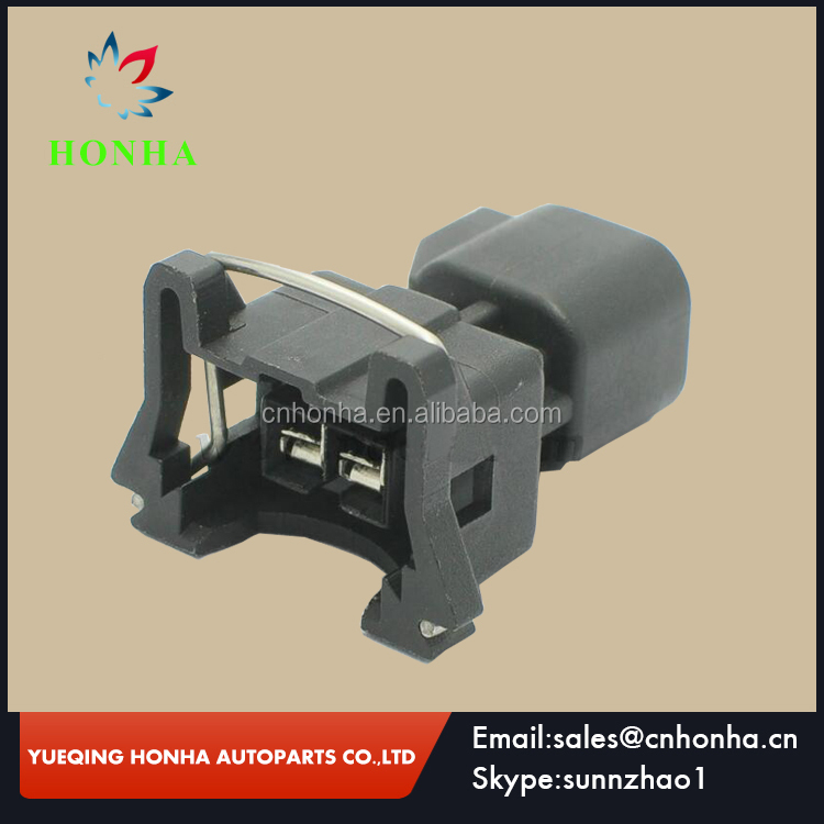 Boschs Type EV1 plug female to EV6 2 pin male fuel injector wire harness connector Adapter plug