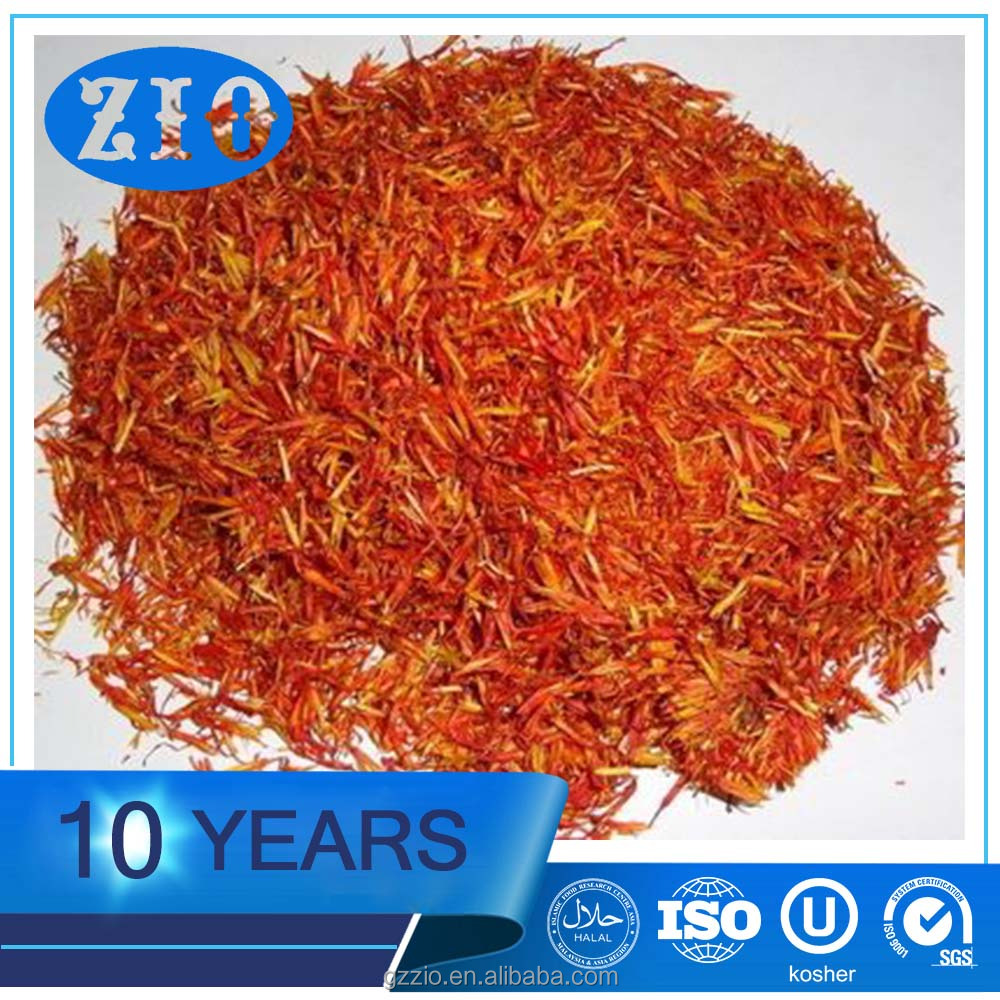 Safflower Yellow natural flower extract color.