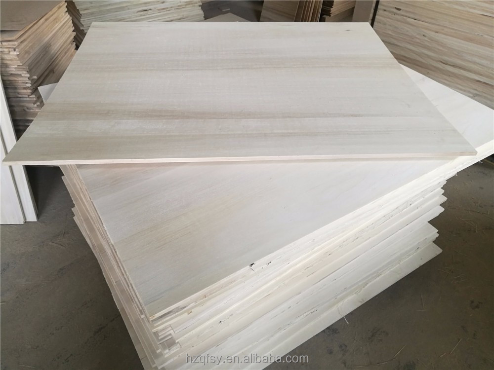 China Paulownia Wood Timber Finger Jointed Board