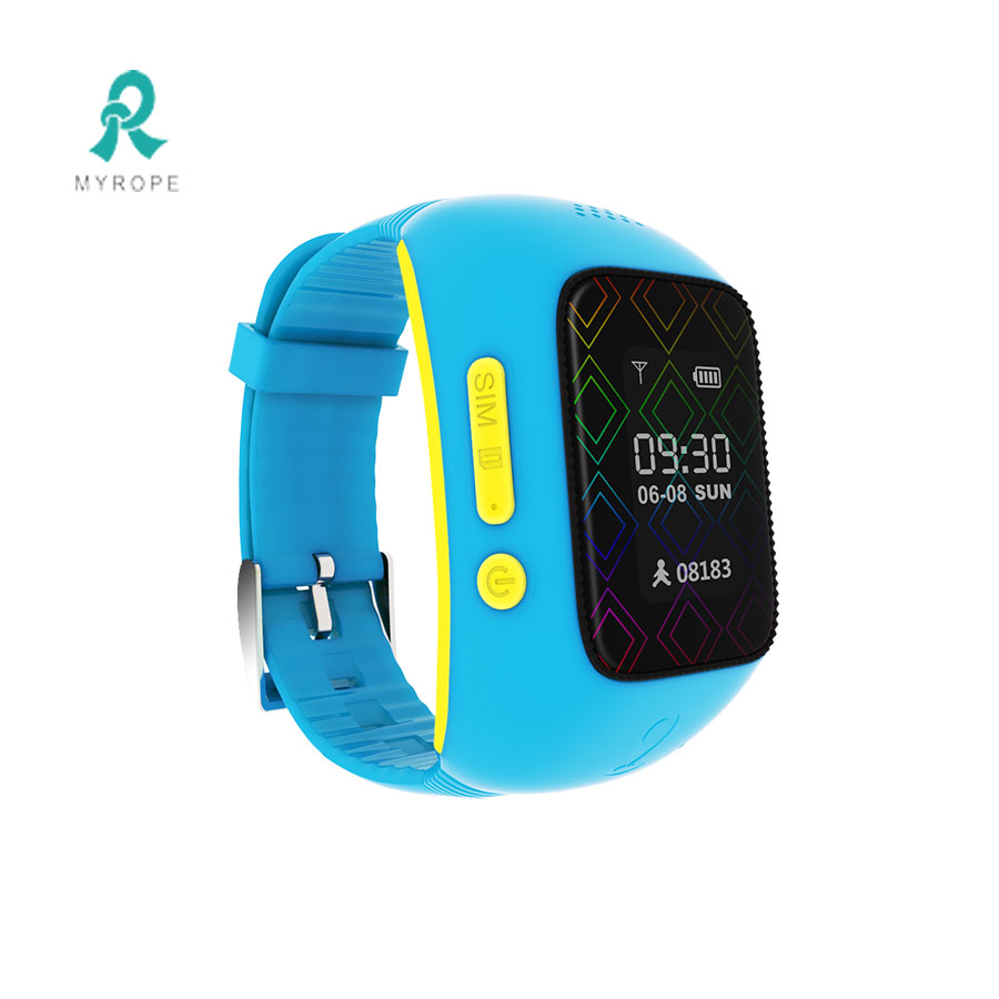 sos panic button wifi gps watch phone R12
