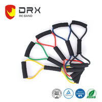 high elasticity power resistance bands loop latex for arm training
