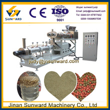 2014 hot sale sinking & floating small animal feed pellet mill, small fish feed machine