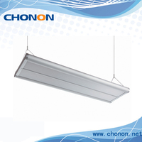 4x14w suspended office light fitting