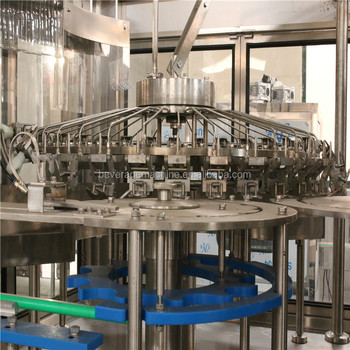 PET Bottling Line Mineral Water Filling Machinery