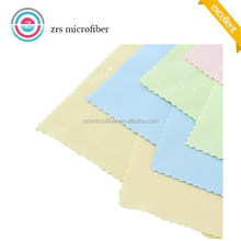 Microfiber cloth for eyeglasses lens cleaning cloth with printing