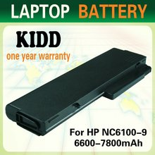 Shenzhen Best Quality Replacement Laptop Notebook Battery for HP compaq NC6230 NX6100 NX6105 NX6110 NX6115 NX6120 NX6125