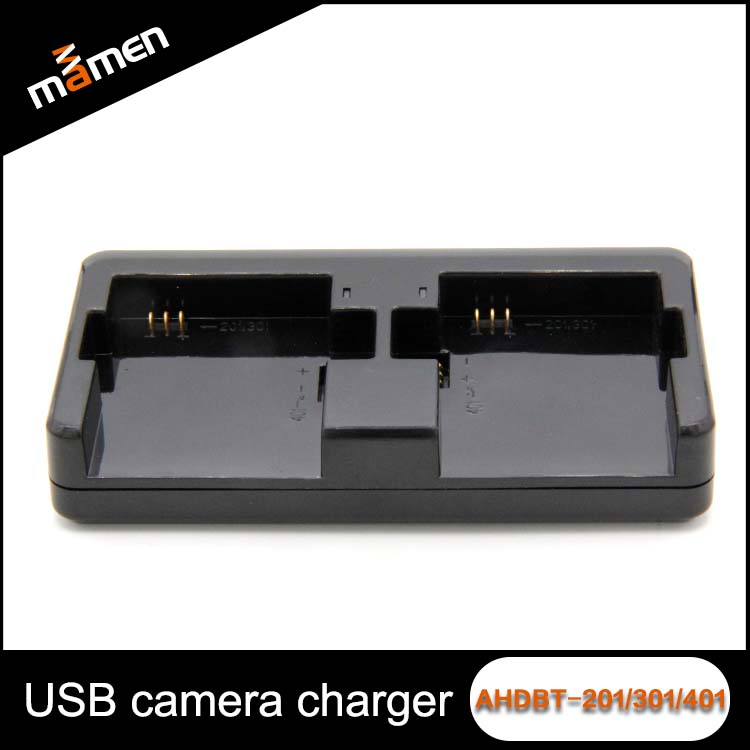 Digital Camera Battery Charger AHDBT-201 301 401 Intelligence Mix Charger 4.35V For Go pro Sports Camera Accessories
