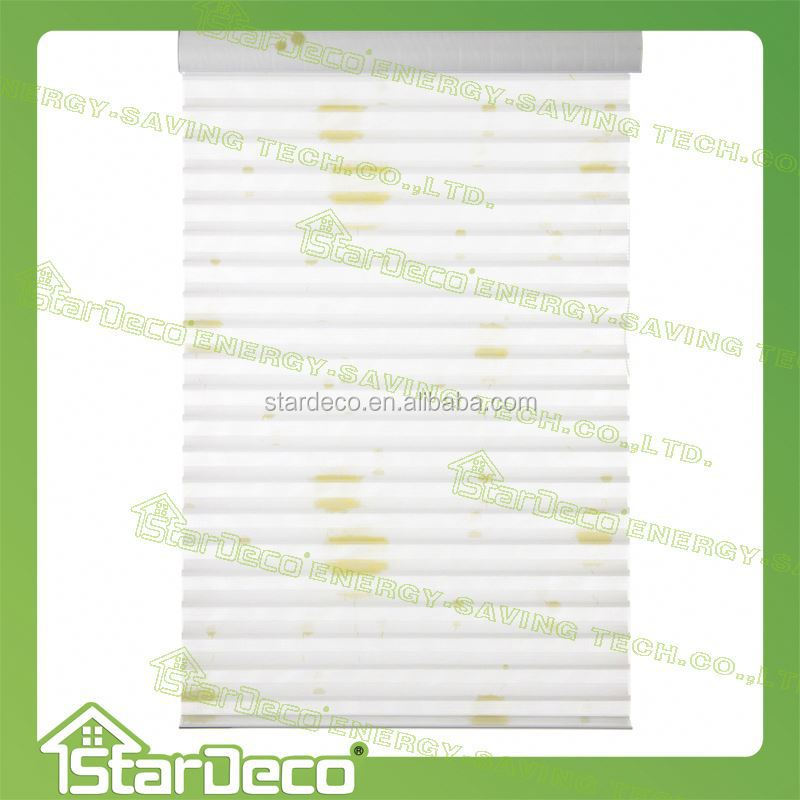 Z212 guangzhou wholesale lace pleated window blinds rope for blinds