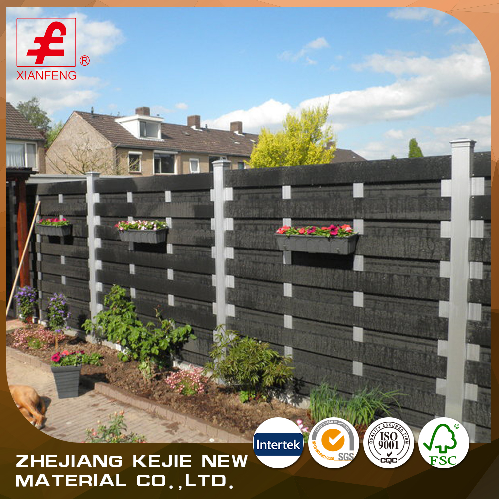 2016 decorative outdoor waterproof cheap wood fence panels wholesale
