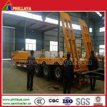Heavy Duty Lowbed Trailer / Semi Trailer Log Loader with Posts