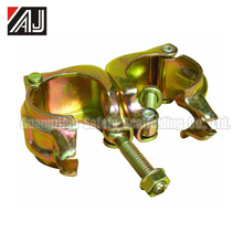 Pressed Metal Scaffolding Swivel Clamp For Construction