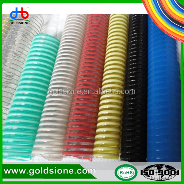pvc flexible durable non toxic without odor multi size available suction tube