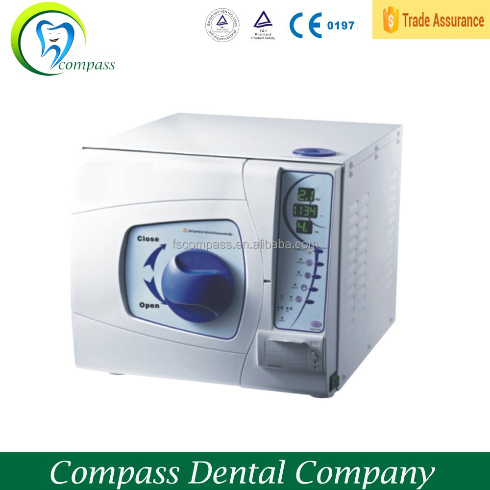 dental autoclave; 18 litters High temperature and high pressure steam sterilizer with printer