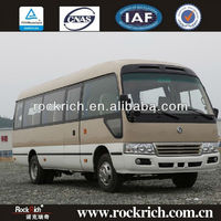 Diesel dongfeng 7m coach 23 seats coaster mini bus