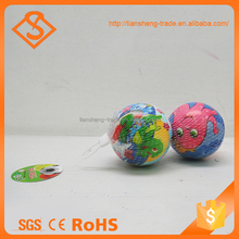 Cheap Gift Multi Color Health Sponge Cartoon Animal Painted Pu Foam Ball