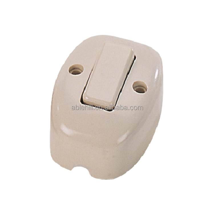 Electrical Cord Line Inline Switch Plastic Push Button Switch