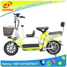Mom and Baby Electric Bicycle New Type 48V 10A 14inch Family Bicycle