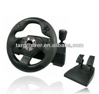 PC Wired Racing Wheel,Steering Wheel with Force Feedback