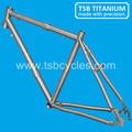 titanium cross bike frame S&S coupler frame TSB-JTC1202