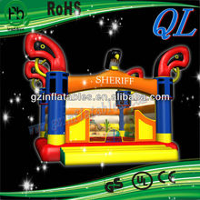 Most popular inflatable theme bouncer 2013 (Qi Ling)
