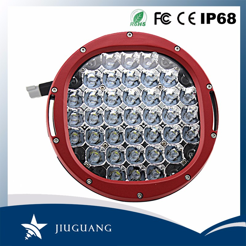 Hot sale ce rohs 225w 9 inch led driving light work light for truck atv suv