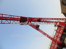 Professioanl Manufacturer for Big Capacity QTZ100(6013) 6Ton Hydraulic fixed construction tower crane,truck-mounted crane