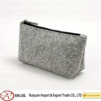 Wholesale fashion handmade felt pen bag for school students