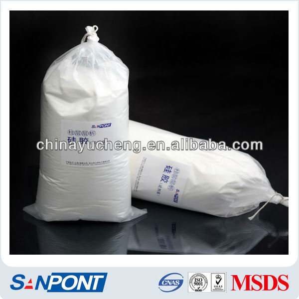 SANPONT Colloidal Silica Free Samples Industrial Grade Column Chromatography Silica Gel