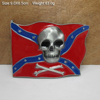 Guangzhou factory price special flag belt buckle