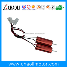 chaoli small coreless motor CL-0615 and CL-0617 with 15KV 17KV and 19KV for tiny whoop and DIY Micro FPV Quadcopter-chaoli2017