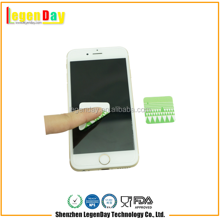 Low Cost Different Shape Mini Sticker Mobile Screen Cleaner