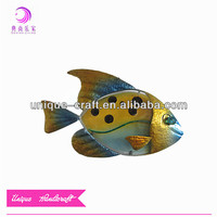 Fish wall decoration glass painting images